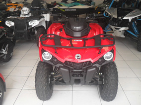 Quadriciclo Can-am Outlander 570l 2017 Com 124km