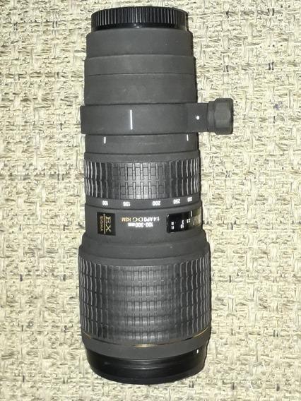 Sigma 100-300mm F/4 Apo Dg (para Canon Full Frame)