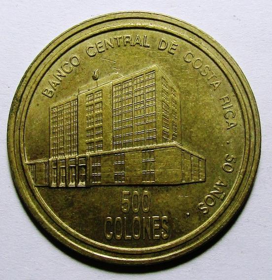 Costa Rica Moneda 500 Colones 2000 Xf