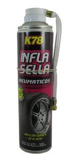 Infla Sella Repara Pinchaduras Autos Motos K78