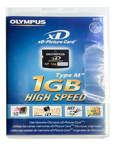 Cartão De Memória Olympus Xd Original Lacrado1gb Promoção