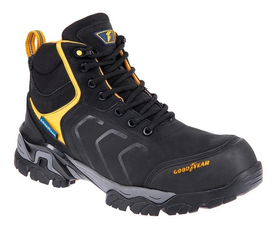 Bota Industrial Goodyear 0111 Id-826476 Casquillo Hombre