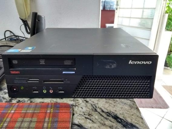 Cpu Lenovo M58p Intel Core 2 Duo, 4 Gb Ram, Hd 160 Gb