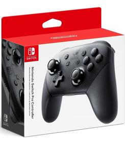 Controle Nintendo Switch Pro Controller Original Oficial Nf