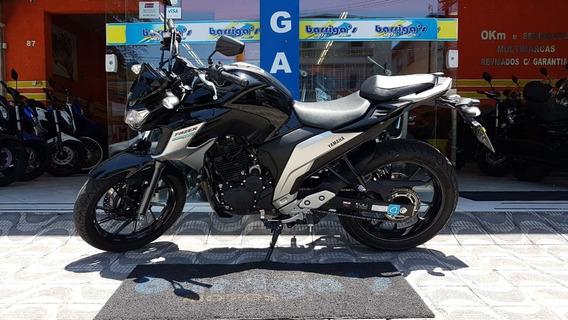 Yamaha Fz 25 Fazer 250cc Abs 2019 Preta Garantia Fábrica