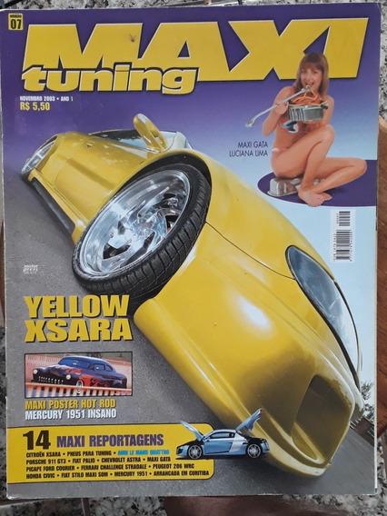 Revista Maxi Tuning - Novembro 2003 - Ano 1