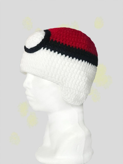 Gorro Pokebola En Crochet