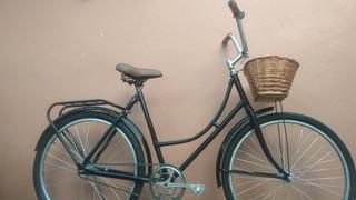Bici Inglesa Mujer Vintage Liviana R26 Mimbre Garantía Envio