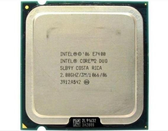 Processador Intel 775 Core 2 E7400 Lga Oferta!