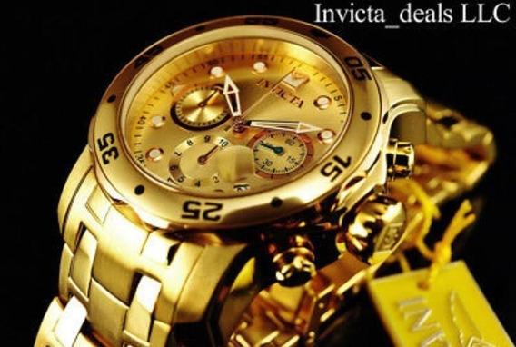 Relógio Invicta Ouro 18k Importado Eua