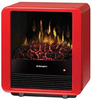 Dimplex Mini Cube Estufa Eléctrica, Dmcs13r, Color Rojo