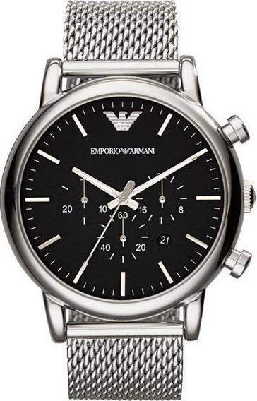 Reloj Original Caballero Marca Giorgio Armani Modelo Ar1808