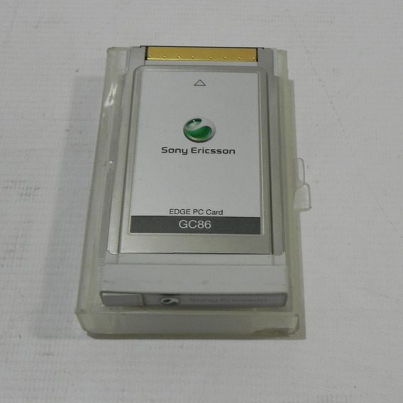 Cartão Pcmcia Sony Gc86 Edge Seminova Com Case
