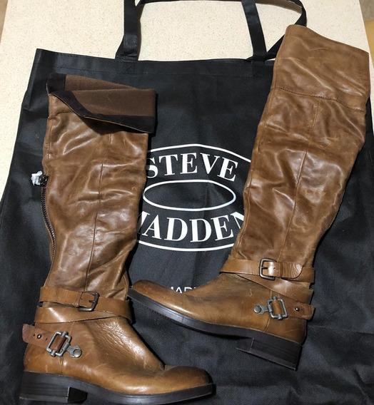 Steve Madden Botas De Cuero Compradas En Nyc