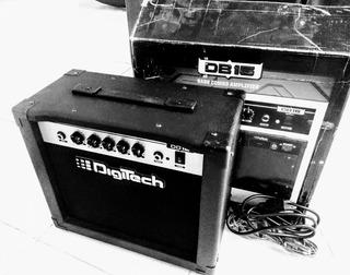 Amplificador Digitech Db15 Bass Combo Amplifier
