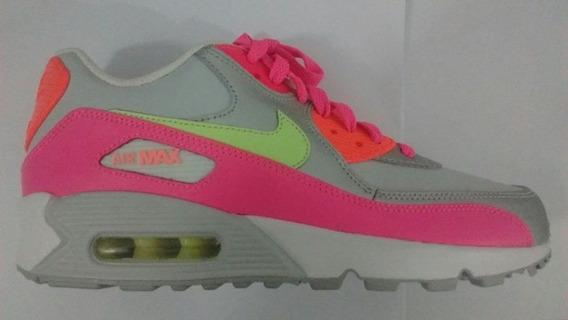 Zapatillas Nike Airmax 90 Mujer Importadas