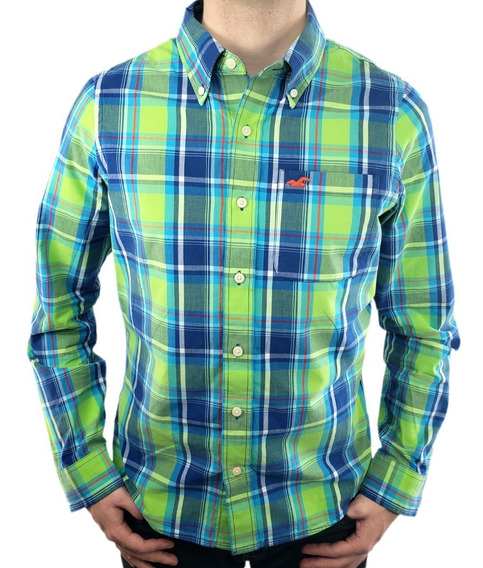 Camisa Hollister Xadrez Original - Modelo Country I - Ecominove Outlet
