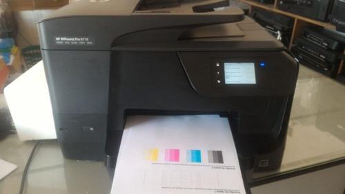 Impressora Hp Officejetpro 8710 -  Semi Nova