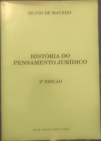 Livro História Do Pensamento Jurídico - 2ª Edição