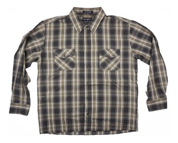 Camisa A Cuadros Xxl Beverly Hills Polo Club Moda