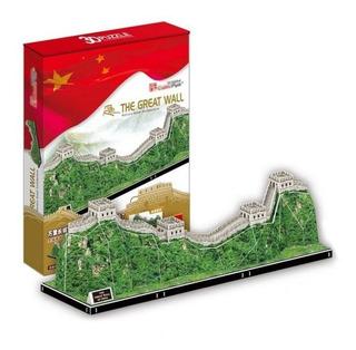 Rompecabezas Puzzle 3d La Gran Muralla China - Cubic Fun