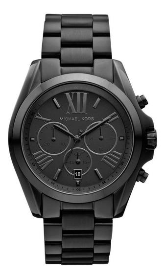 Relógio Feminino Michael Kors Mk5550 Preto Com Cx