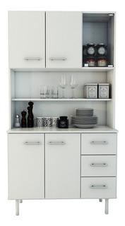 Mueble Microondas Organizador Alacena 170x90cm 10104 - Luico
