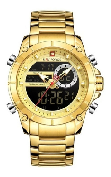 Relógio Masculino Naviforce Original Modelo 9163