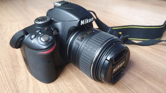Câmera Nikon D3200 18-55mm + 50mm F1.8