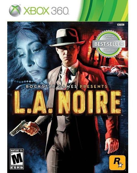 L.a Noire Xbox 360 Novo Lacrado
