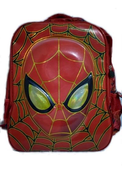 Mochila Homem Aranha Spider Man 3d Spiderman Sem Juros!