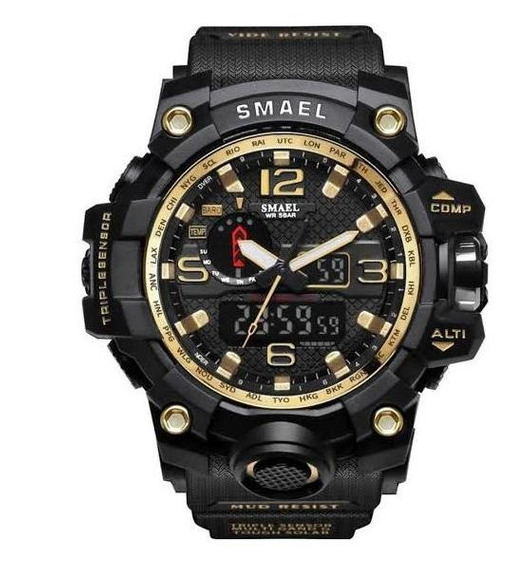 Relógio Masculino Militar G-shock Smael 1545 Prova D