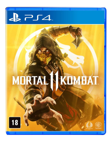 Jogo Ps4 - Mortal Kombat 11 - Warner