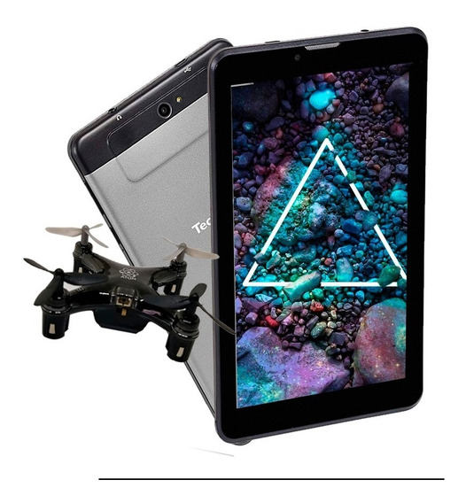 Tablet 3gr 7 16gb Sim Red 3g Combo + Drone