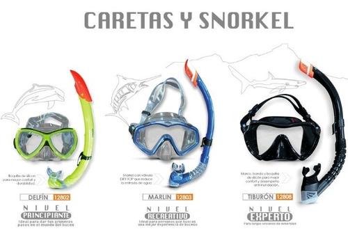 Careta O Snorkel Para Buceo