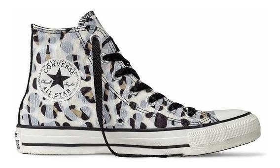 Converse Hi Botitas Leopard Cheetah Print Animal Celeste