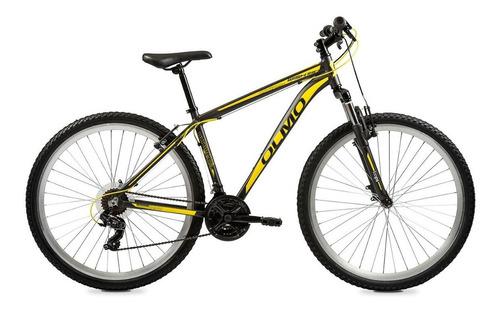 """Imagen 1 de 2 de Mountain bike Olmo Wish 290 R29 18"""" 21v frenos de disco mecánico cambios Shimano Tourney TZ31 color gris/amarillo"""