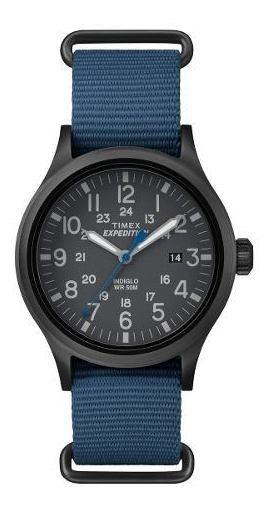 Reloj Timex Hombre Azul Tw4b04800