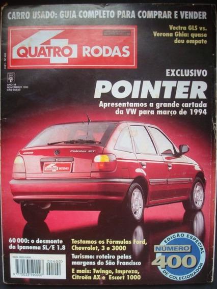 4 Rodas No. 400 Novembro De 1993