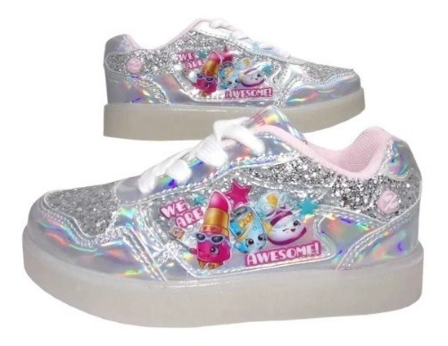 Zapatillas Footy Shopkins Con Led