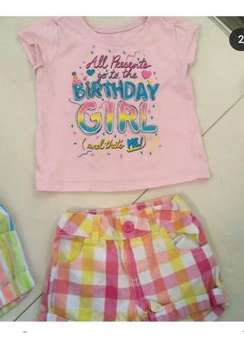 Cónjuntos De Bebé Niña Carters 12 Meses Buen Estado