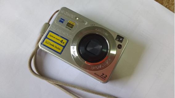 Câmera Digital Sony Dsc-w110 7.2 Mp Optical Zoom 4x (usada)