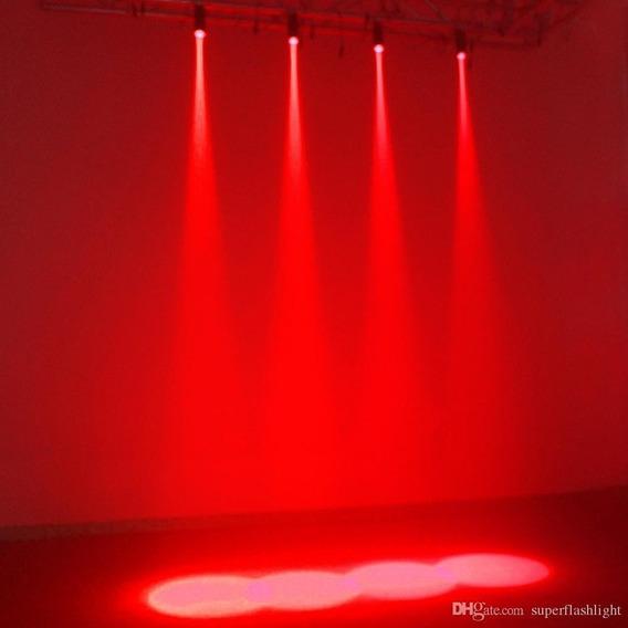 Canhão Pinspot Led Vermelho Globo Espelho Alto Brilho