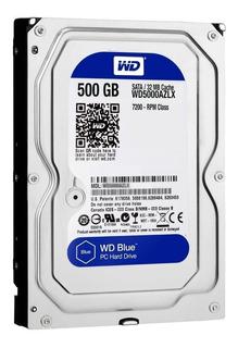 Wd Disco Duro Western Digital Blue 500gb Sata 6 Gb S 7200