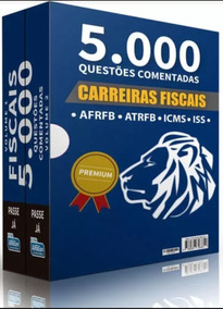 Livro 5000 Questoes Carreiras Fiscais Alfacon