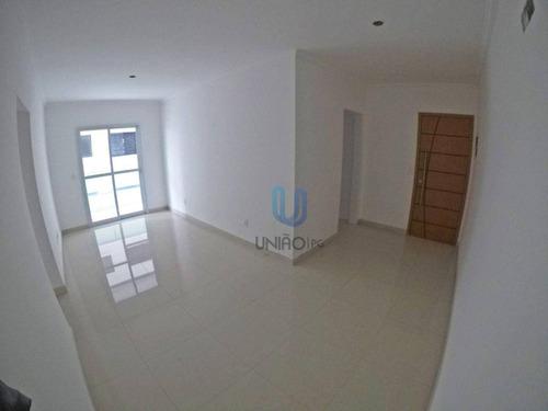 Imagem 1 de 28 de Apartamento Com 2 Dormitórios À Venda, 82 M² Por R$ 595.000,00 - Guilhermina - Praia Grande/sp - Ap0286