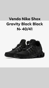 Nike Shox Gravity Original Black Black
