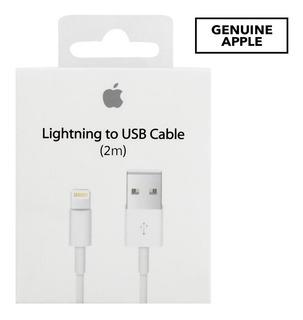 Cabo Apple Lightning Para Usb 2 Metros Adaptador Original