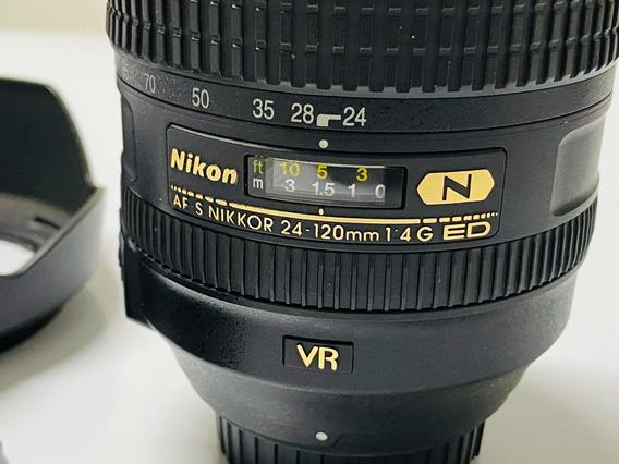 Lente Nikon 24-120mm 4 Vr Ed