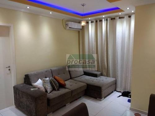 Imagem 1 de 10 de Apartamento Com 2 Dormitórios À Venda, 68 M² Por R$ 350.000,00 - Colônia Santo Antônio - Manaus/am - Ap1997